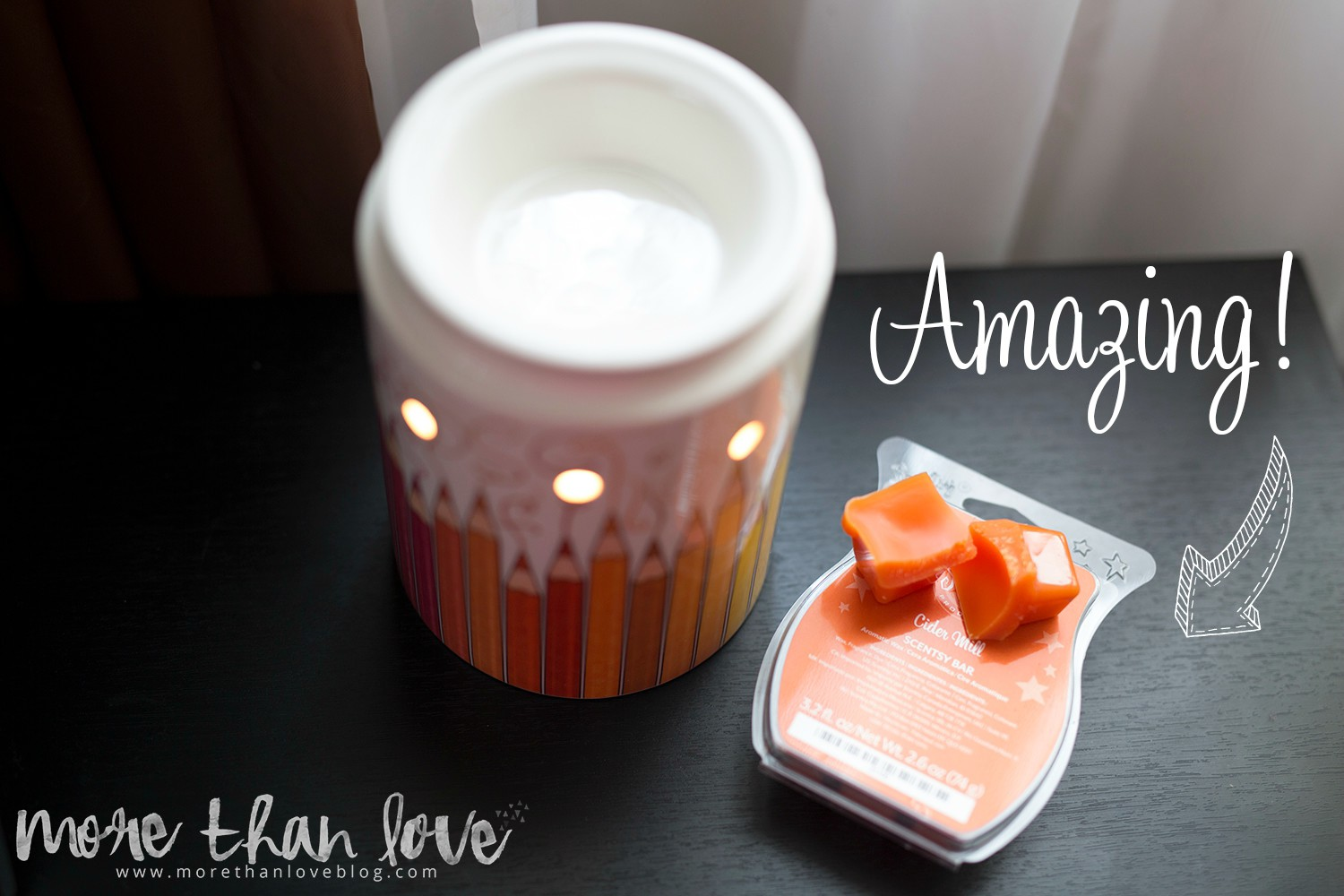 Scentsy Warmer of the Month Colorgraphy