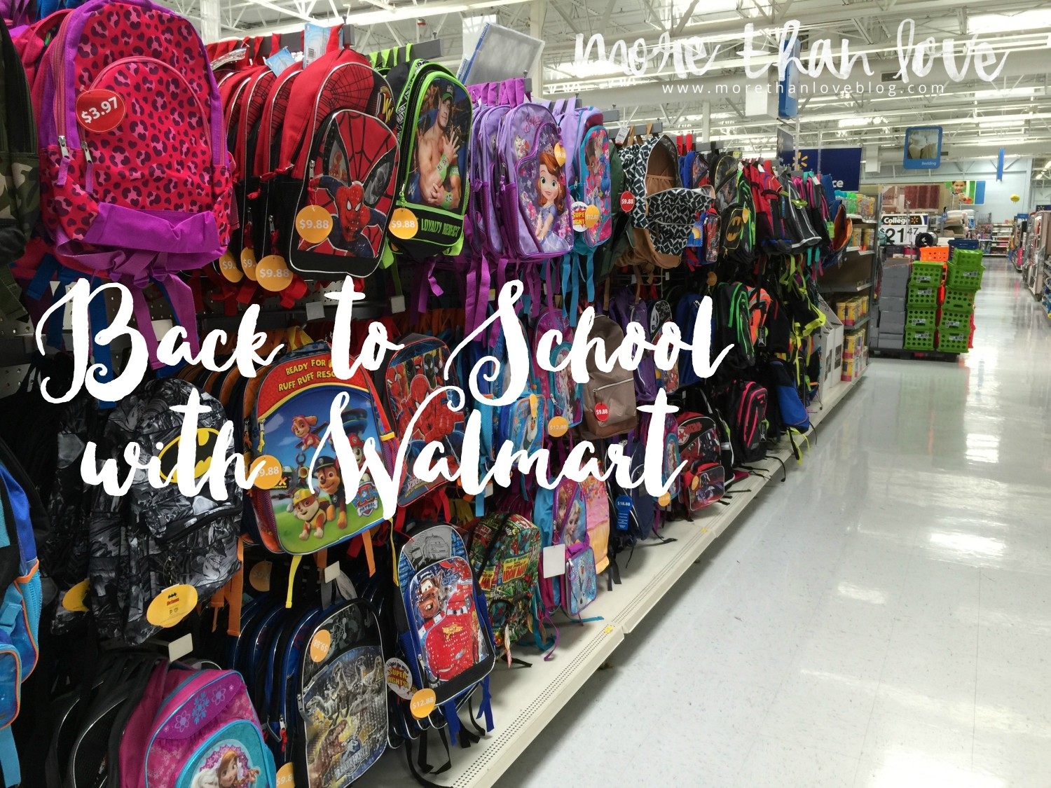 Back to School Like a Boss with Walmart