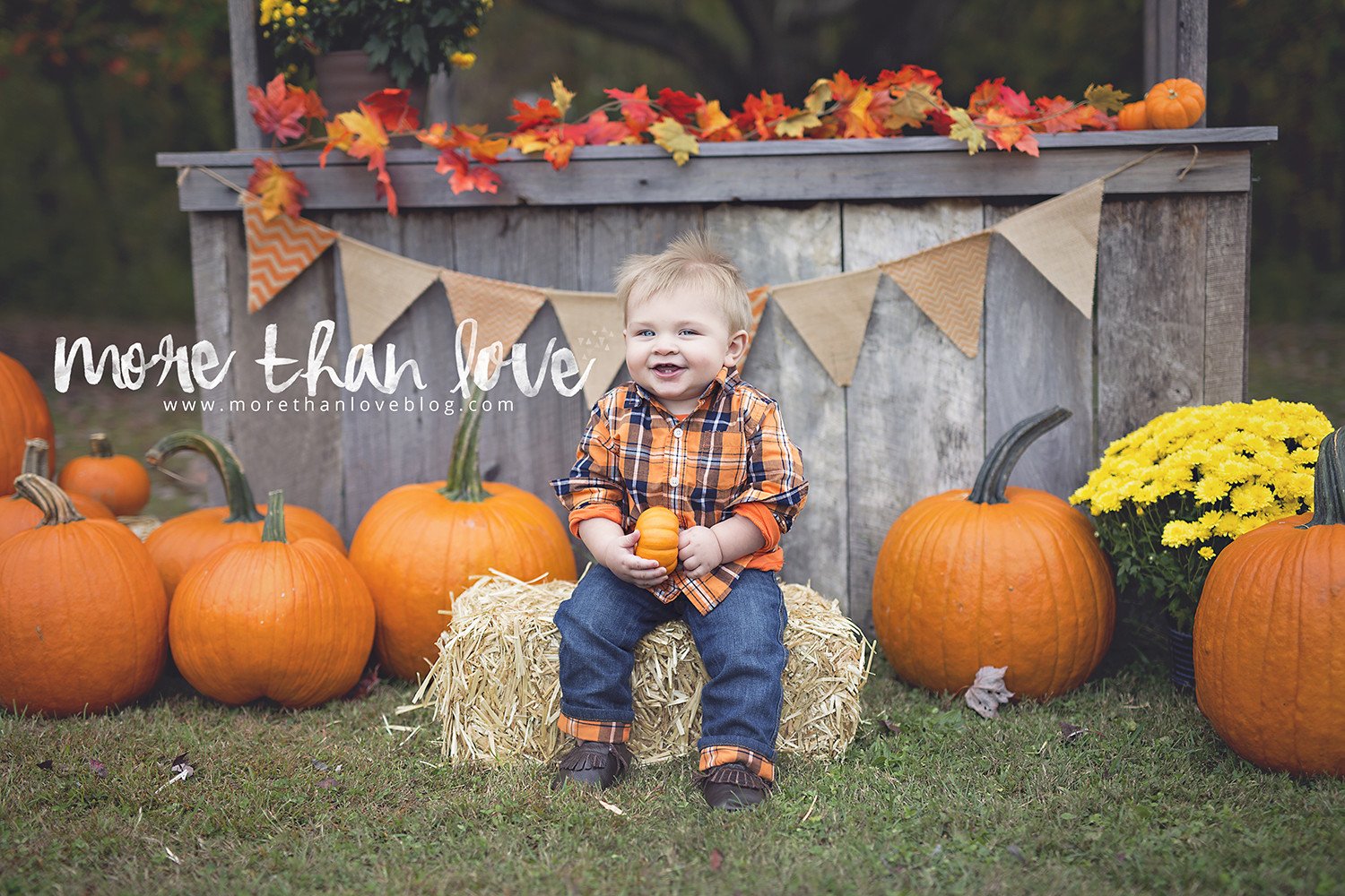 Fall Photo Idea for Toddlers
